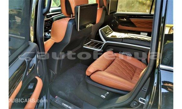 Acheter Importé Voiture Lexus LX Noir à Import - Dubai, Marquesas
