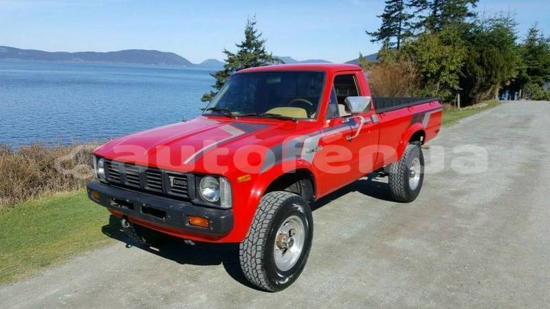 Big with watermark toyota pick up